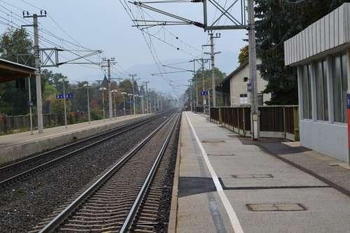 Rails Railway Gleise Track Train Traffic Just