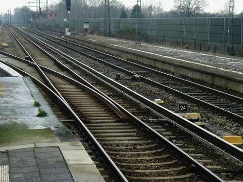 Rails Gleise Track