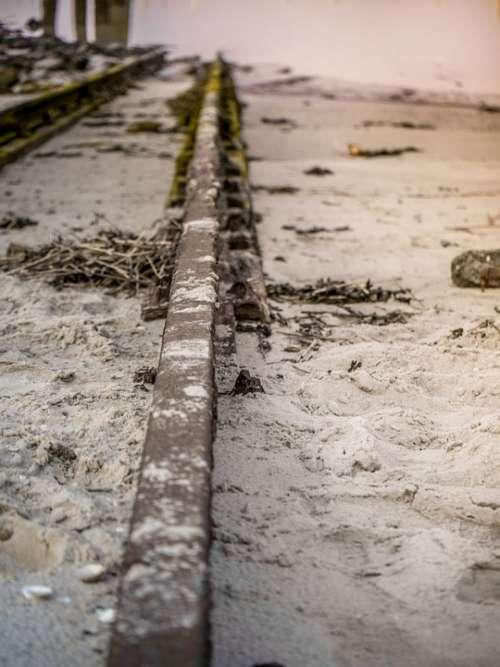 Rails Railway Sand