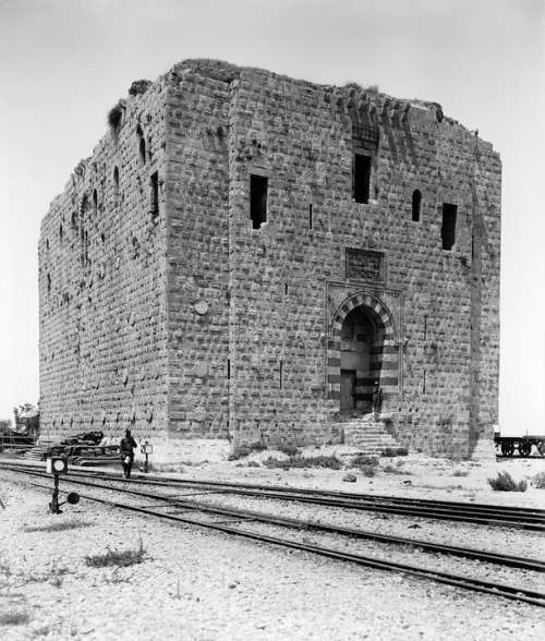 Rails Railway Lion Tower Tripoli 1900