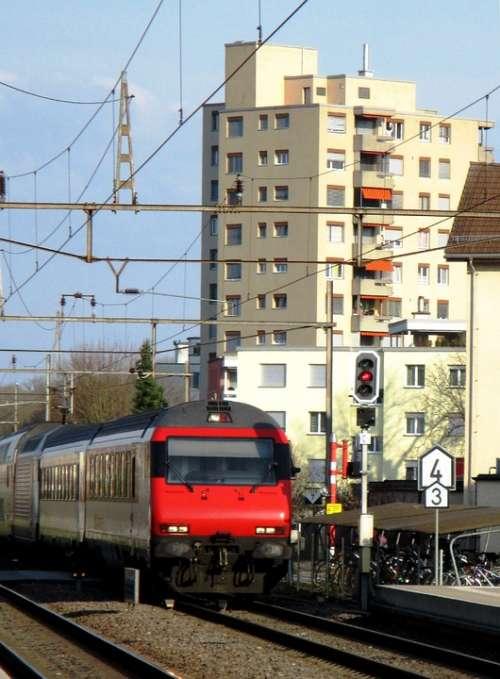Railway Intercity Gateway Amriswil Romanshorn Brig
