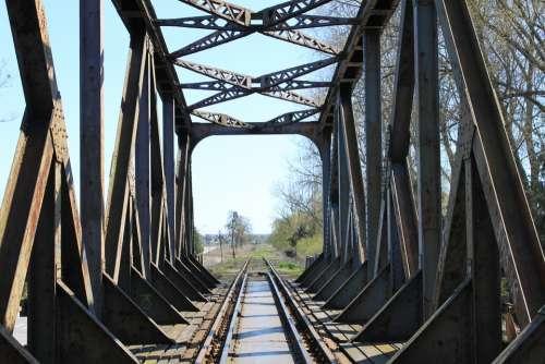 Railway Bridge Masuria Poland