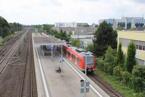 Railway Station Train Gleise