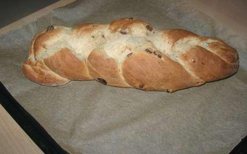 Raisin Braid Raisin Bread Bread Bake Homemade