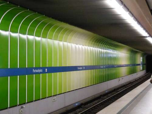 Rapid Transit Tube Subway Underground Railway Metro