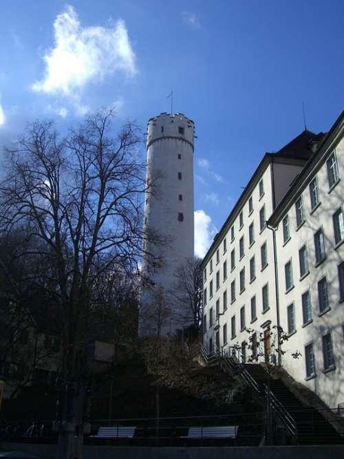 Ravensburg Tower Round Flour Sack Landmark