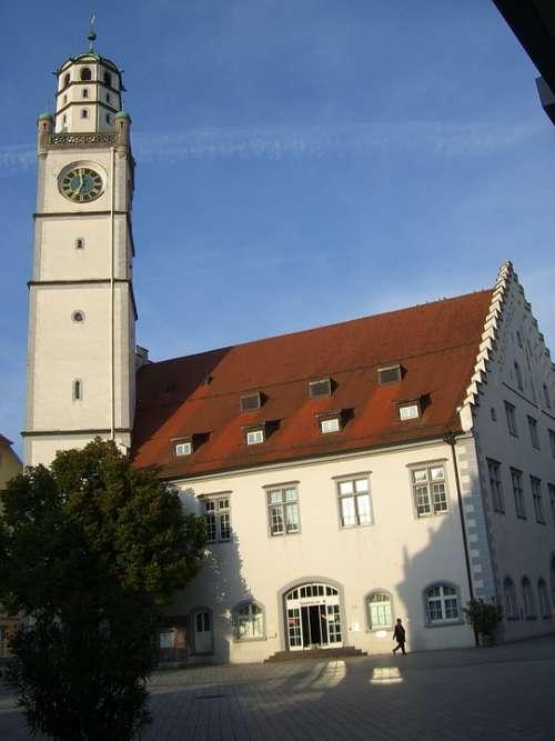 Ravensburg Marketplace Downtown Church Steeple