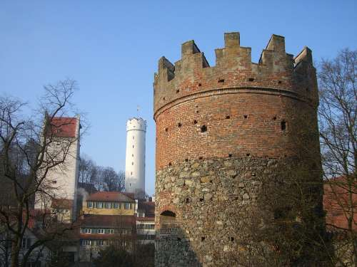 Ravensburg Downtown Middle Ages Defensive Tower
