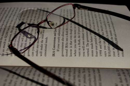 Reading Glasses Read Books Old Eyes Tired Night