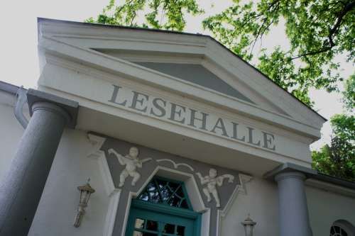 Reading Hall Warnemünde Library Vacations Building
