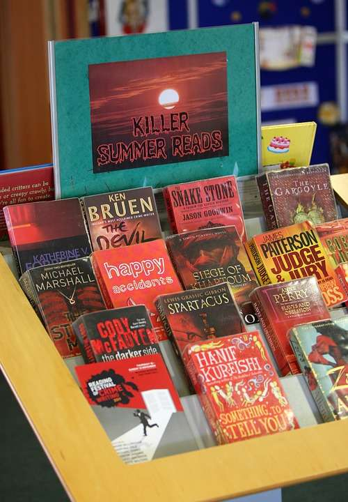 Red Book Display Summer Reading Library