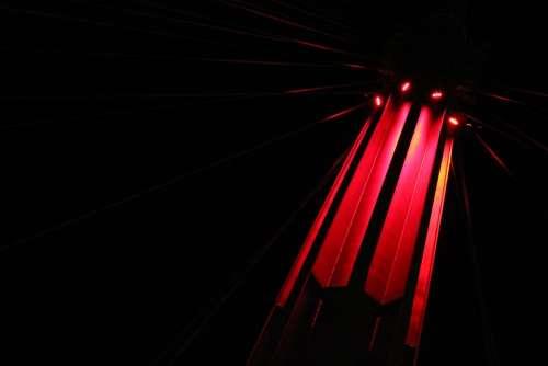 Red Light Elegant Art Contrast Background Lights