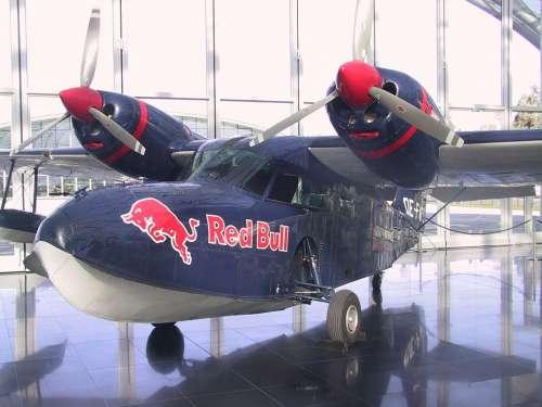 Red Bull Aircraft Propeller Flyer Exhibition