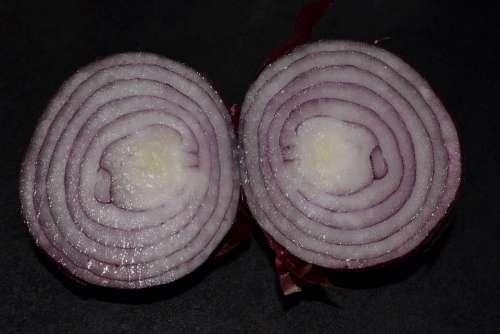Red Onion Food Vegetable Onion Eating Vegetarian