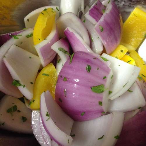 Red Onions Diet Cooking Grill Kabobs Nutritious