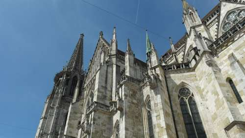 Regensburg Dom Cathedral Gothic Architecture Gothic