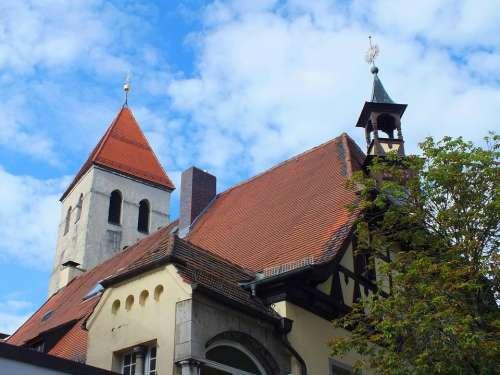 Regensburg Steeple Germany Bavaria Church