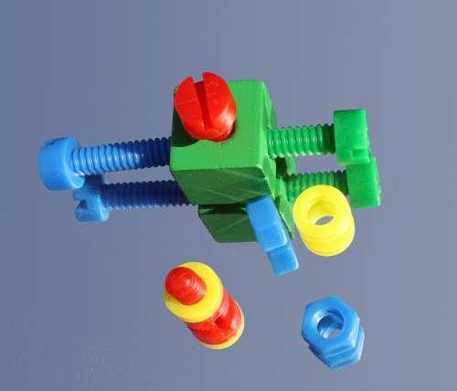 Regulation Screw Colorful Color Kit Make