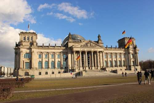 Reichstag Berlin Government Germany Bundestag