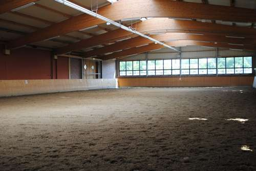 Reithalle Building Training Ground Horse Training
