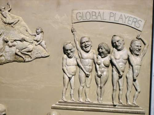 Relief Ludwigshaften Steering Artists Global Player