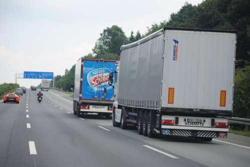 Remote Traffic Truck Transport Of Goods Logistics