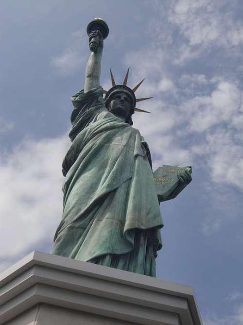 Replica Statue Liberty New York Famous Lady
