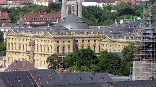 Residence Würzburg Balthasar Neumann Swiss Francs