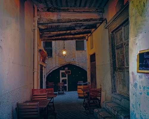 Restaurant Café Architecture Buildings Cote D'Azur