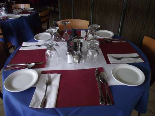Restaurant Table Dining Table Table Setting