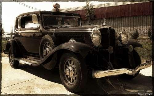 Retro Car Automobiles Classic Automobile