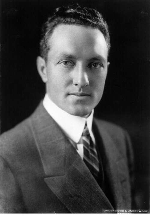 Richard E Byrd Polar Explorer Aviator Naval Officer