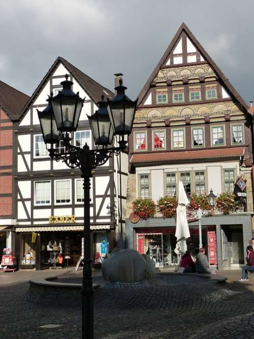 Rinteln Historic Center North Rhine Westphalia