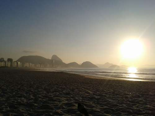 Rio De Janeiro Sunrise Beach