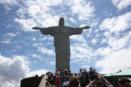 Rio De Janeiro Vacation Christ Brazil