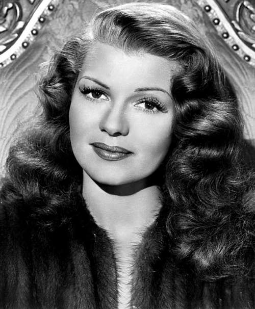 Rita Hayworth Actress Movies Classic Retro Vintage