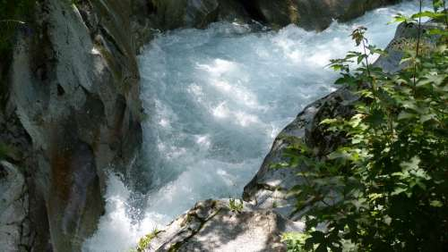 River Water Courses Nature Hautes Alpes