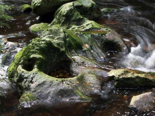 River Water Rock