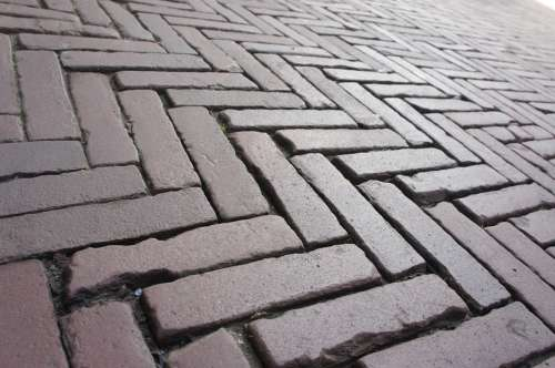Road Paving Stones Mosaic Pattern Symmetry