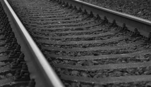 Road Rails Railway Rural Train Travel Passenger