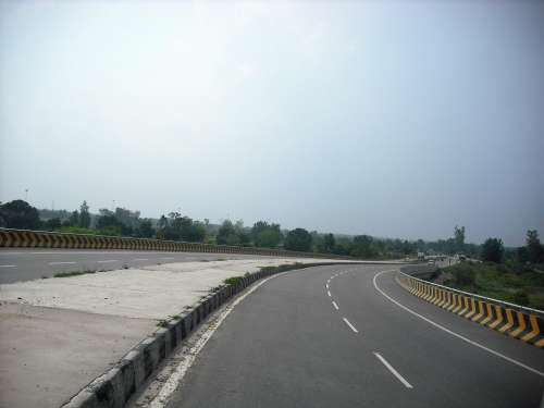 Road Scenery Nature Outdoor India Highway