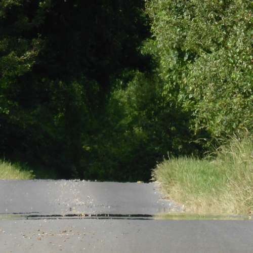 Road Asphalt Tar Heat Away Bump