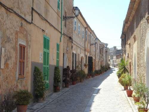 Road Eng Cityscape Village Street Houses
