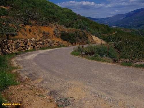 Road Asphalt Route Landscape Roads