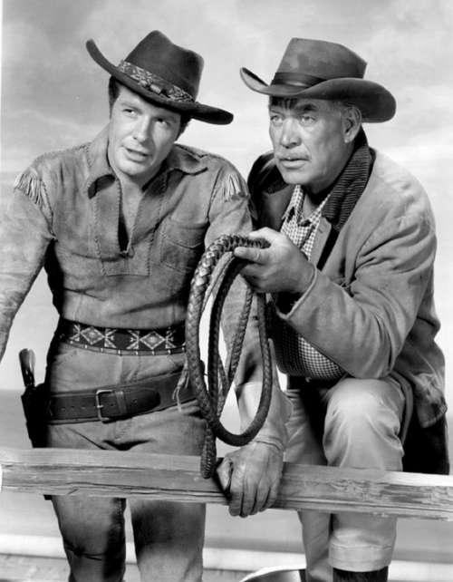 Robert Horton Ward Bond Actors Classic Wagon Train