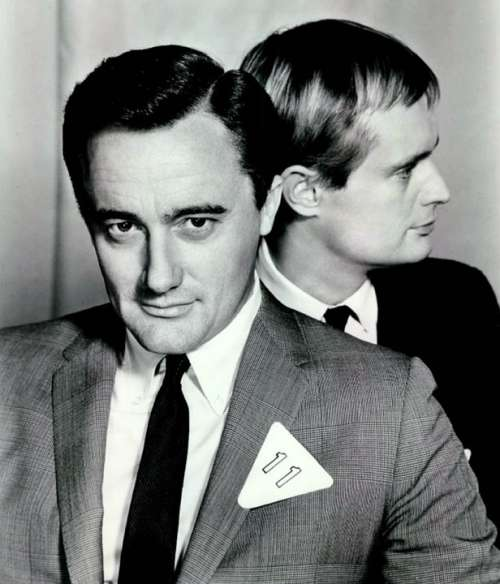 Robert Vaughn David Mccallum Actors Television