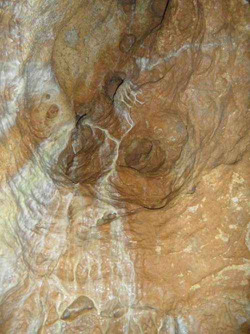 Rock Limescale Cave Vertical Cave Of Laichingen