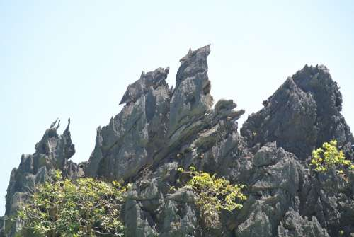 Rock Mountains Rock Formations