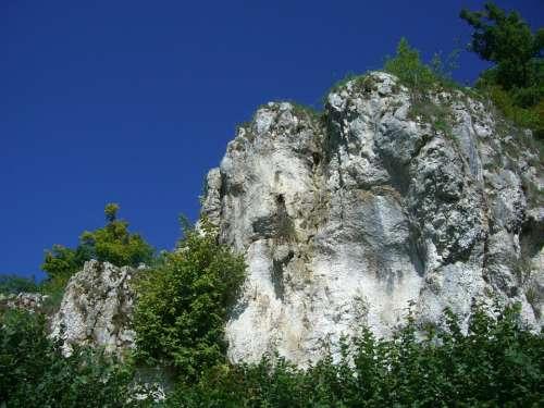 Rock Kagberg Sky Blue Hürben Huerbetal Limestone