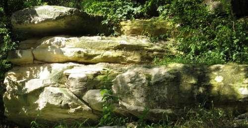 Rock Cliff Rocks Hill Rocky Outdoor Boulder